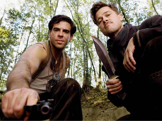 Bastardos sin gloria con Brad Pitt