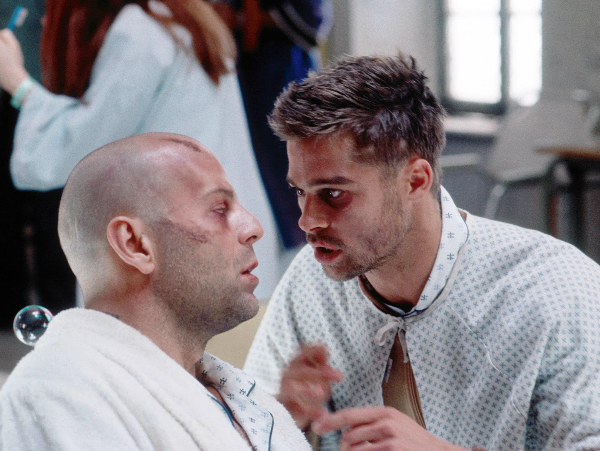 Doce monos con Brad Pitt