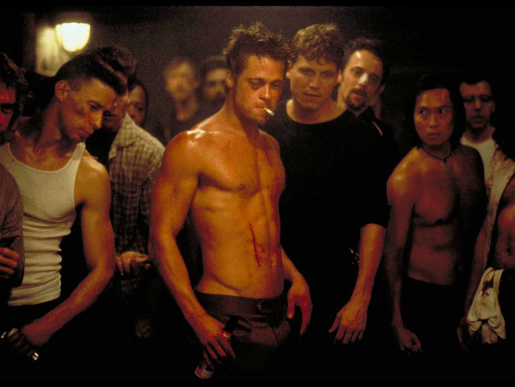 El club de la pelea con Brad Pitt