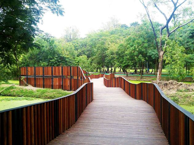 Bird Wave Bridge at the Queen Sirikit Park