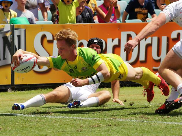Rugby sevens - qantas advertorial