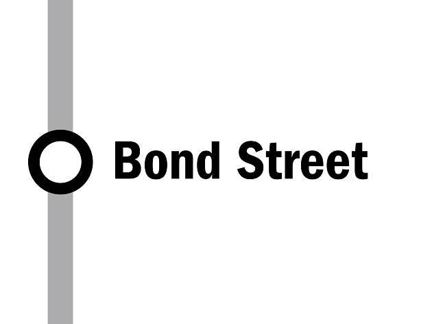 Bond Street, night tube