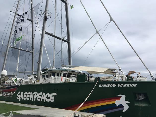 Rainbow Warrior ile #GüneşeYelkenAç!