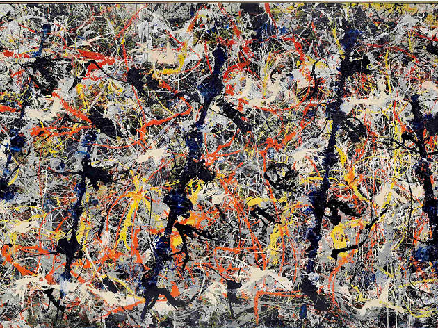 Abstract Expressionism Royal Academy of Arts, Jackson Pollock, 'Blue Poles', 1952