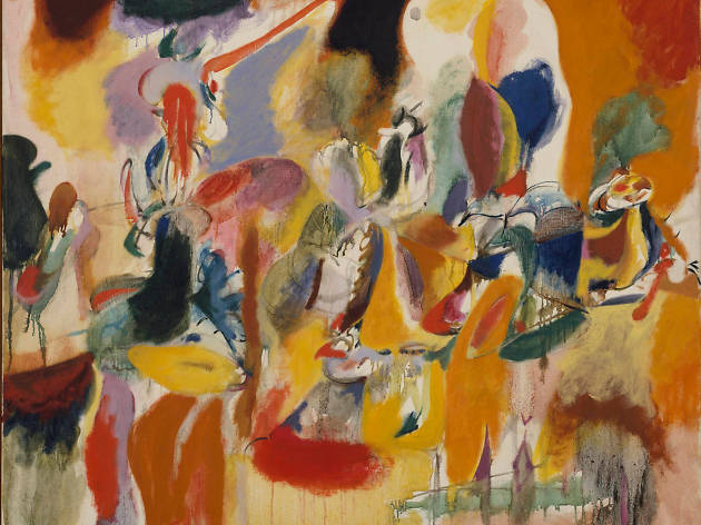 Abstract Expressionism Royal Academy of Arts, Arshile Gorky, 'Water of the Flowery Mill', 1944