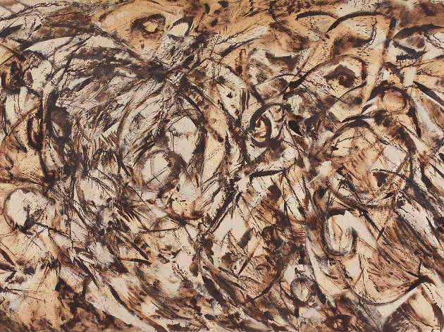 Abstract Expressionism Royal Academy of Arts, Lee Krasner, 'The Eye is the First Circle', 1960