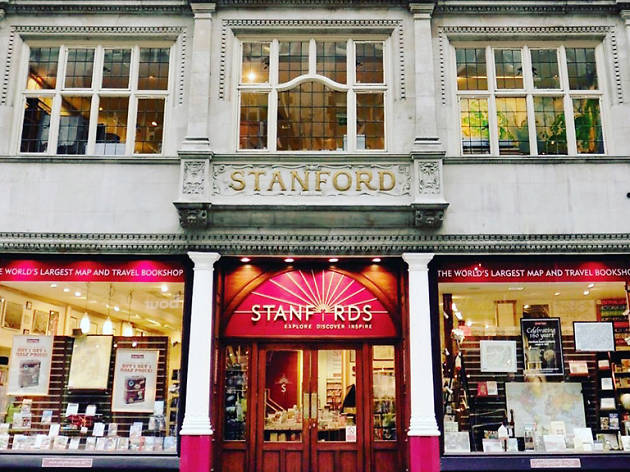 Stanfords, Covent Garden, 2016