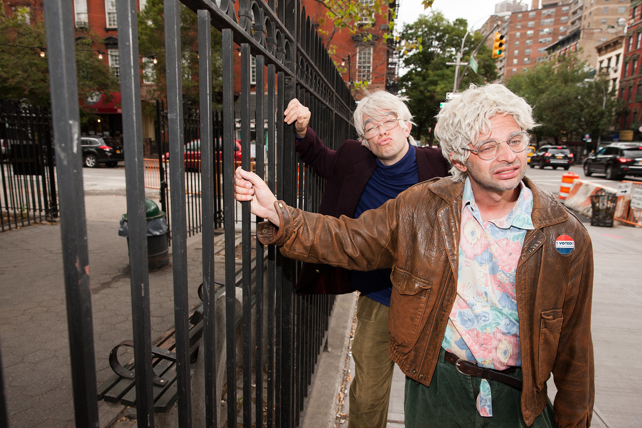 George St. Geegland (John Mulaney) and Gil Faizon (Nick Kroll)