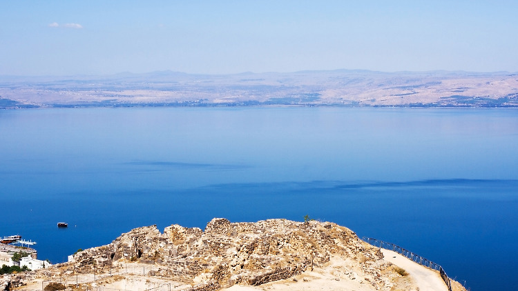 The Sea of Galilee: the best beaches and sites