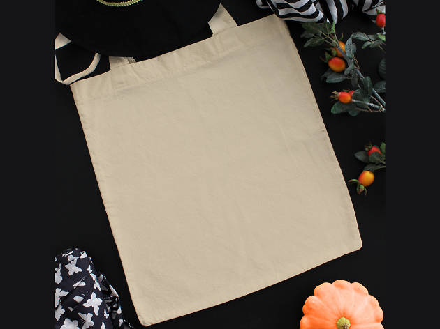 Halloween Styloween Design Your Own Trick-or-treat Tote Bag Workshop