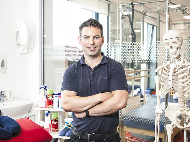 Rob Vellosa, physiotherapist for the Royal Ballet