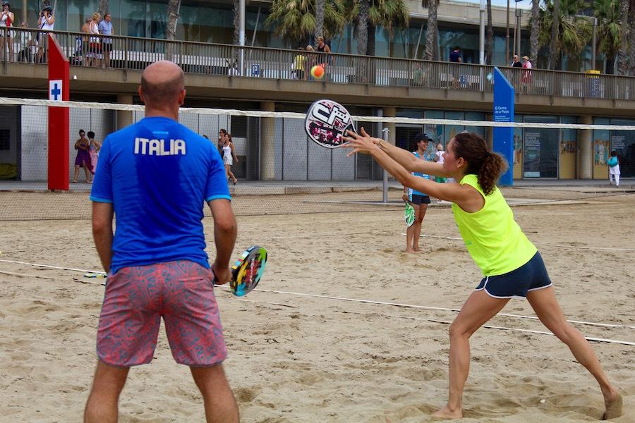 Beach Tennis a Barcelona