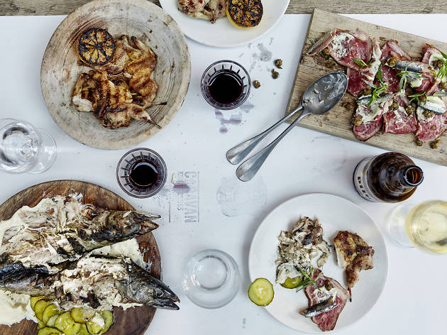 Get half-price food at Caravan's new Bankside restaurant next week