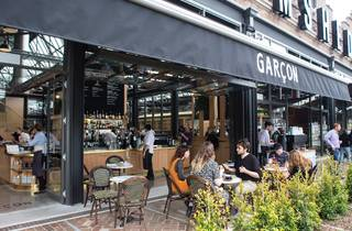 Garcon cafe at Tramsheds