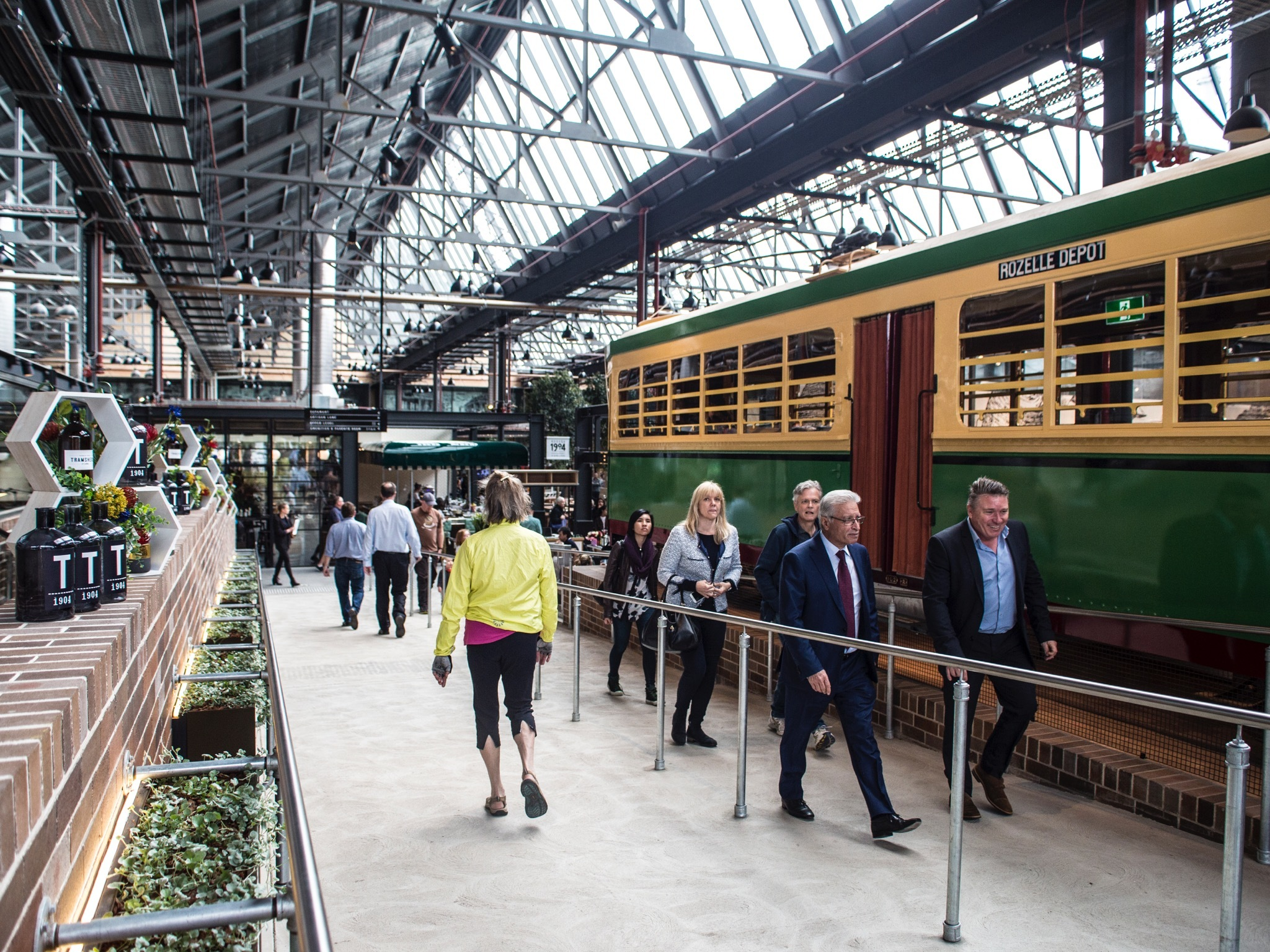 Interior at Tramsheds