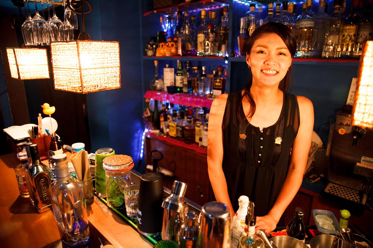 Smalllest Bar: Chiharu Ono