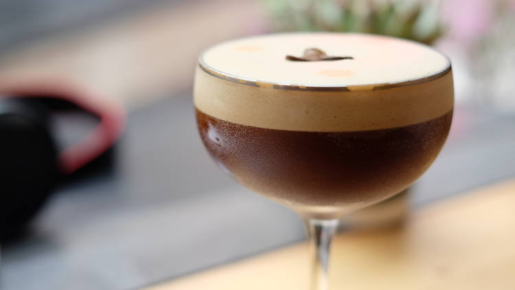 Coffee cocktails (Winstons)