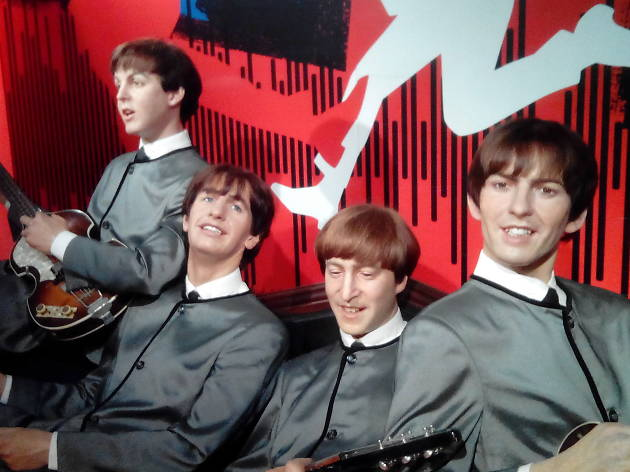 The Beatles at Madame Tussauds Hong Kong