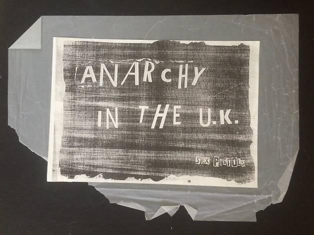 Jamie Reid, Anarchy In The UK, 1976