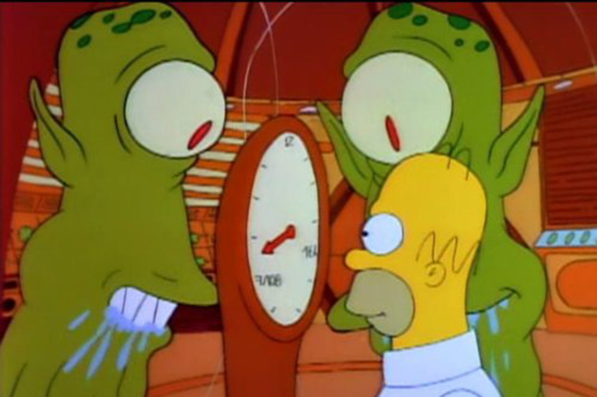 """The Simpsons, """"Treehouse of Horror"""" (1990)"""