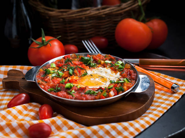 The best shakshuka in Tel Aviv