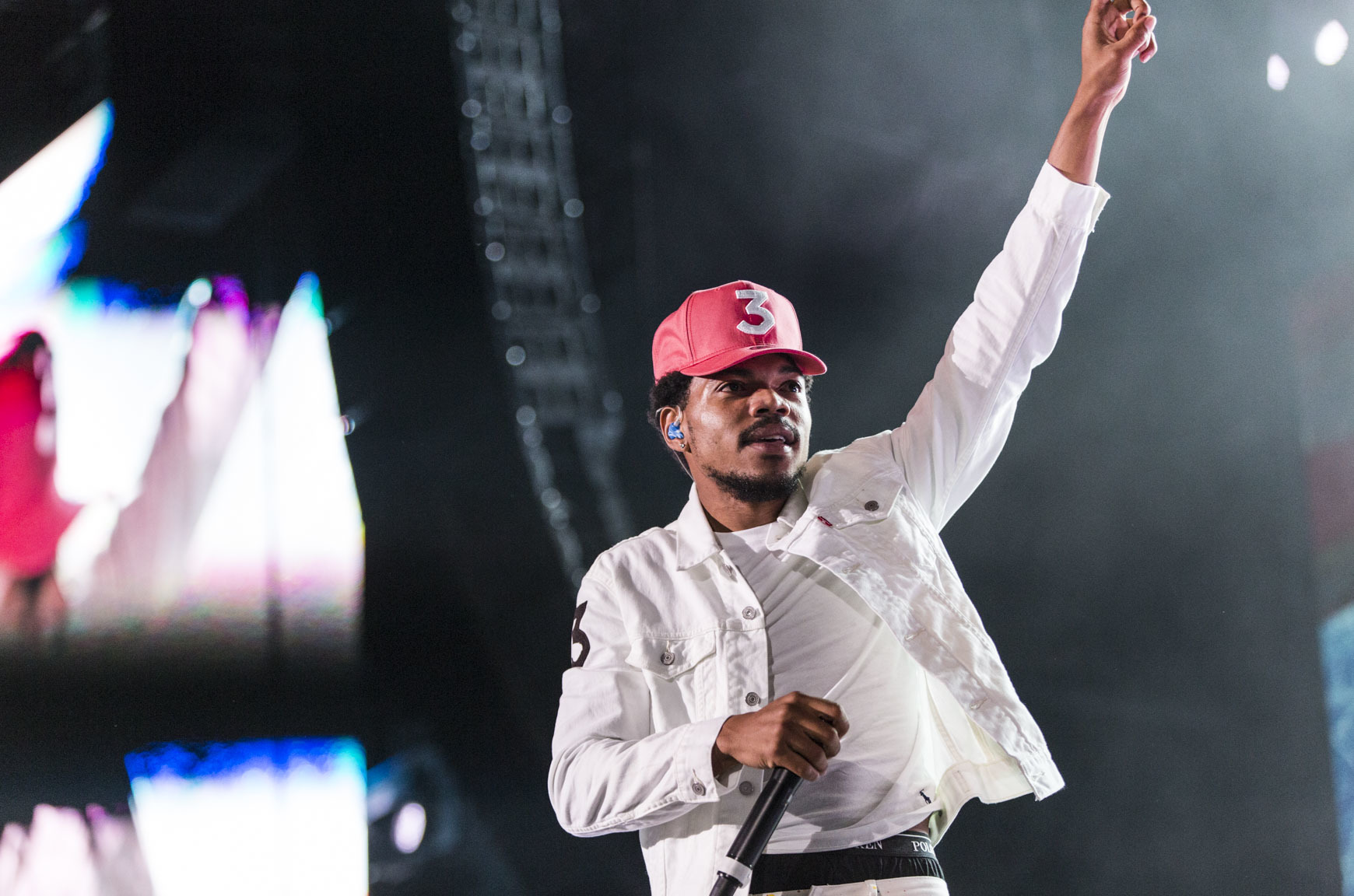 Photos from Chance the Rapper's Magnificent Coloring Day