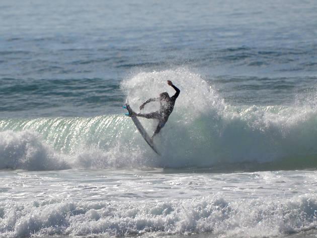 Manobra de surf