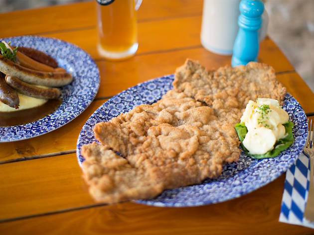 What goes into the perfect schnitzel?