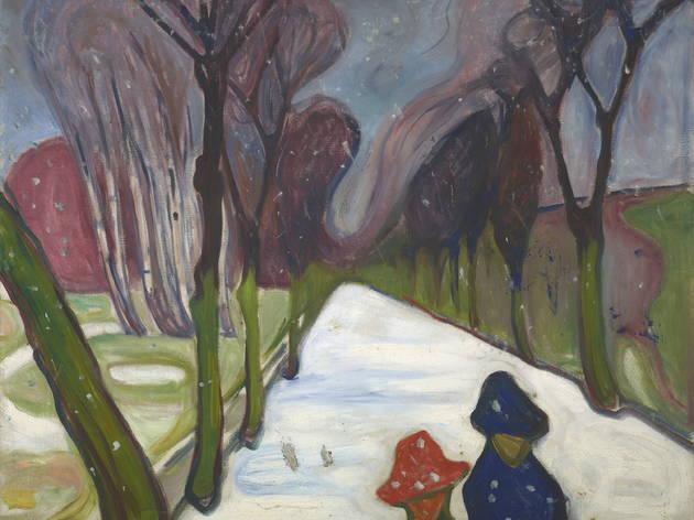 peindre l'impossible (© Munch Museum Halvor Bjørngård)