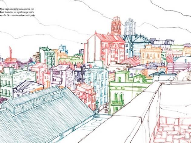 Barcelona rooftops by Miguel Herranz