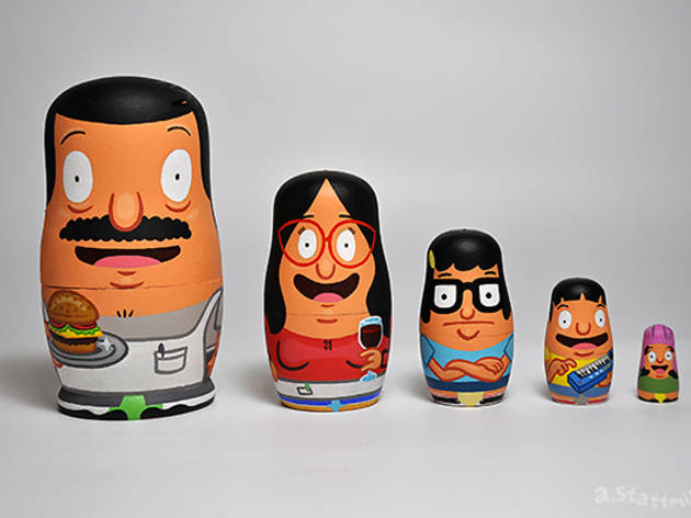 Bob's Burgers gets celebrated in art