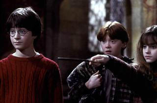 Harry, Ron, Hermione Harry Potter 1