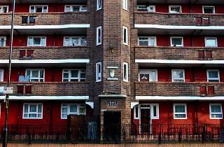 London flats, Innis House, East Street