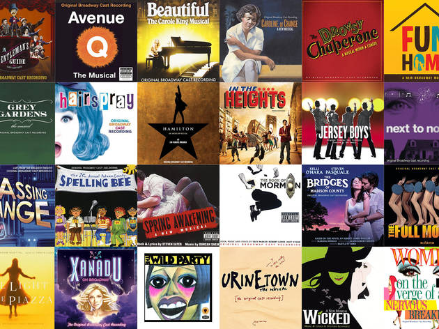 Best original Broadway cast recordings since 2000