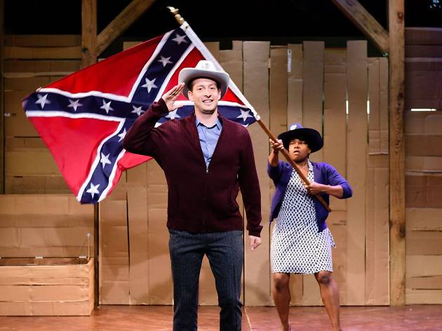 Theater review: Race and romance go off the rails in Underground Railroad Game