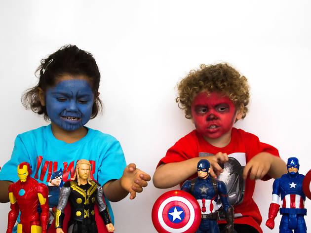 Maquillaje de súpervillanos de Marvel para Halloween