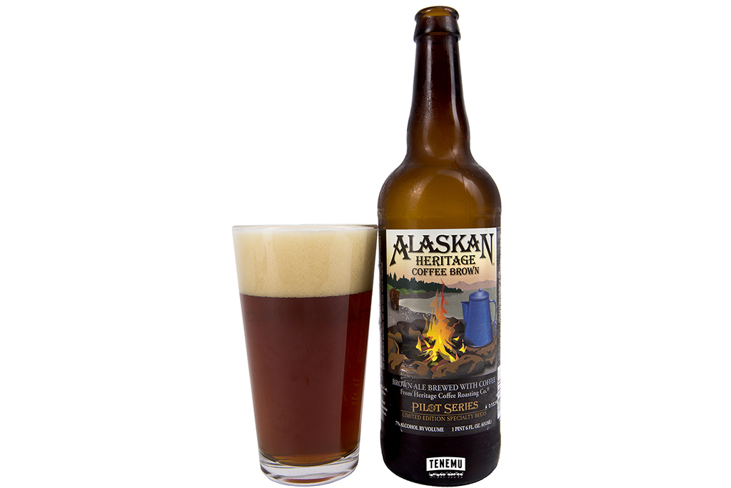 Heritage Coffee Brown Ale, Alaskan Brewing Company, Juneau, AK