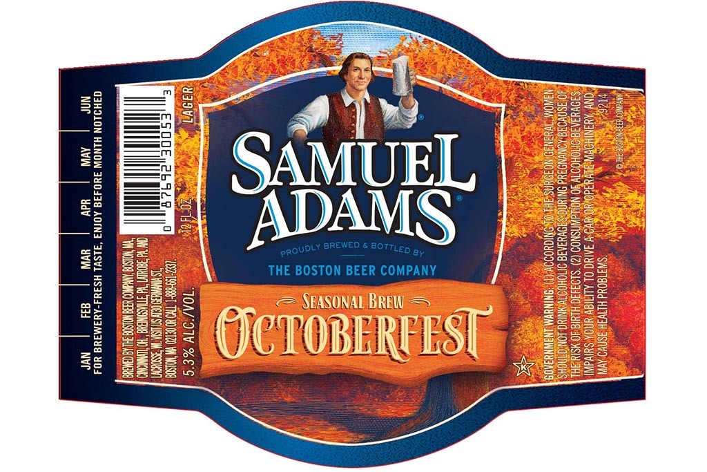 Samuel Adams OctoberFest, Boston Beer Company, Boston, MA
