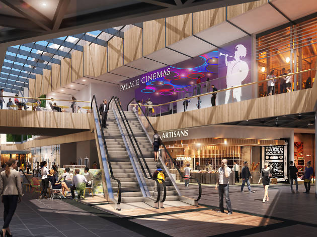 The former Pentridge Prison will be transformed into a 15-screen cinema complex