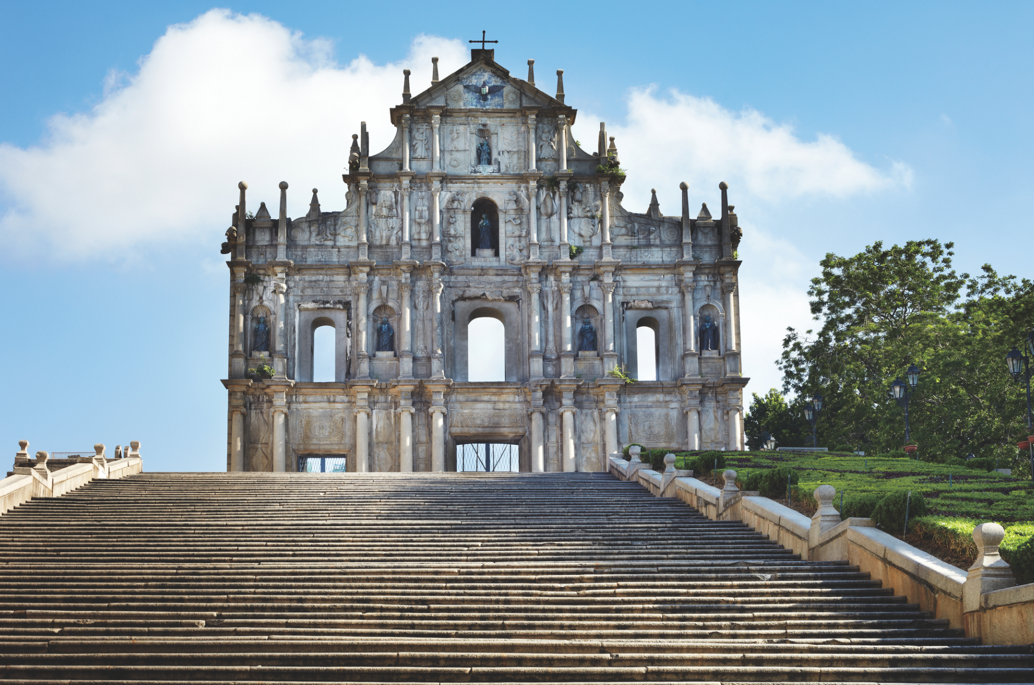 The Ruins of St Paul's (Macao heritage feature)