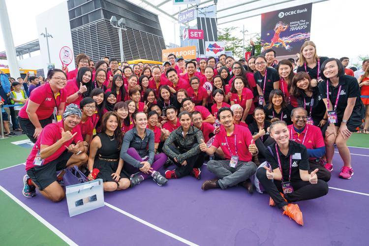 WTA Finals Singapore event guide