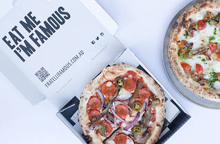 Fratelli Famous pizza