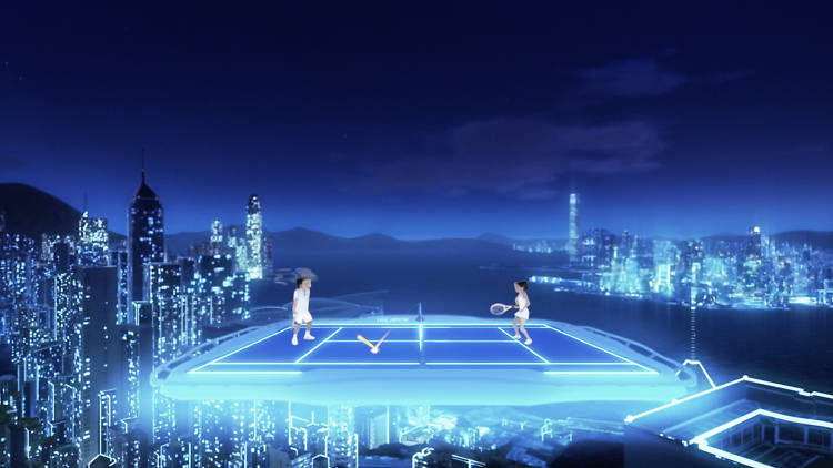 Tennis in the Air