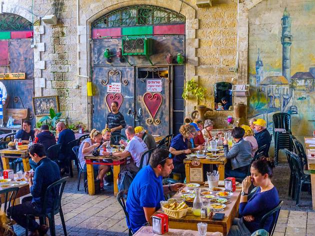 Authentic Jaffa street food