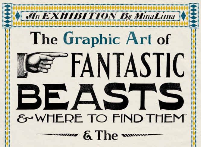 The Graphic Art of Fantastic Beasts
