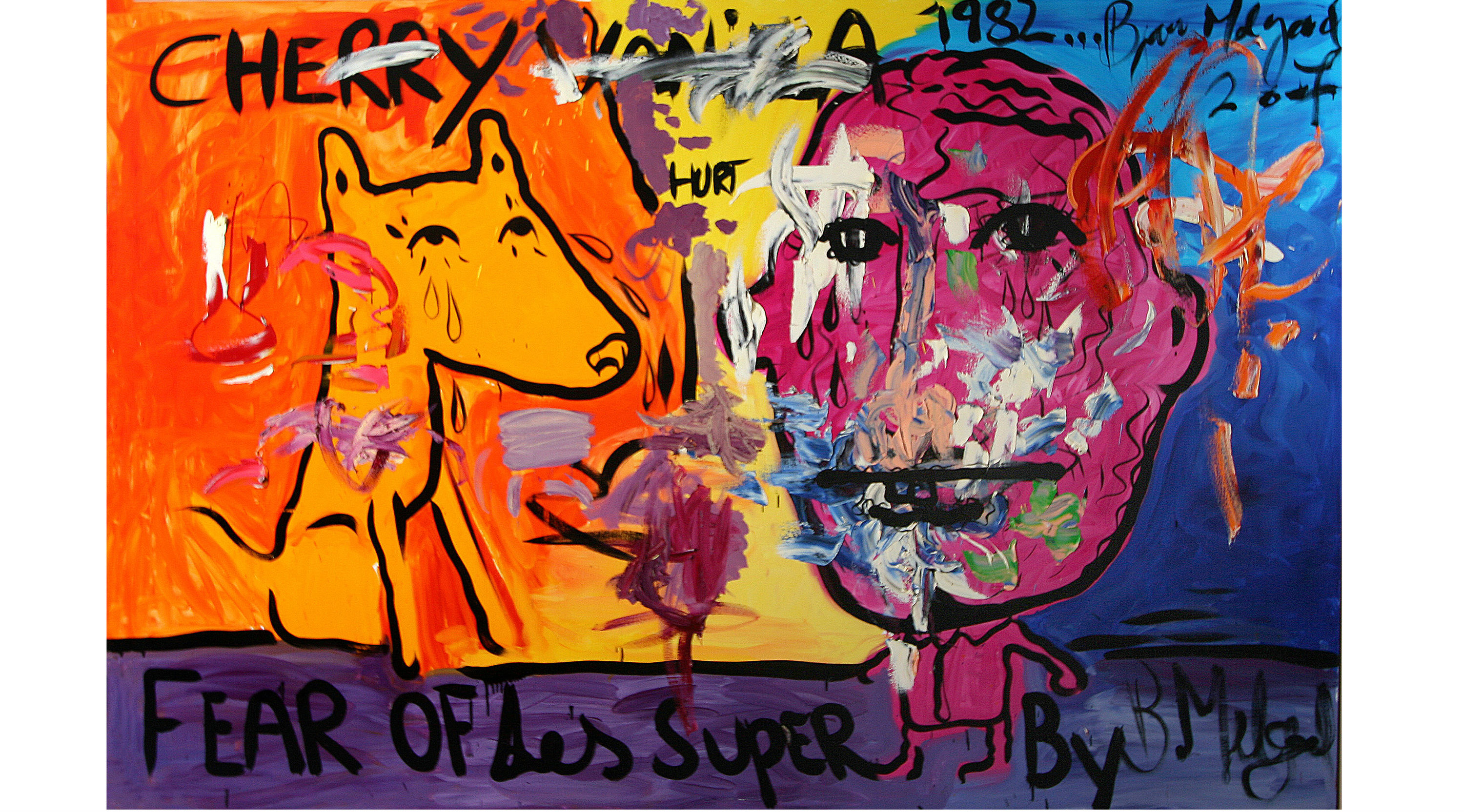 (Bjarne Melgaard  Untitled (Fear of Les Super), 2007. © Bjarne Melgaard, 2007. Courtesy of the Saatchi Gallery, London.)