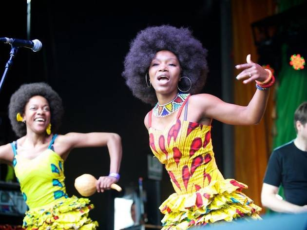 Africa on the Square