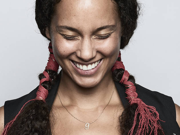 Alicia Keys will play a surprise set at tomorrow's Roots Picnic!