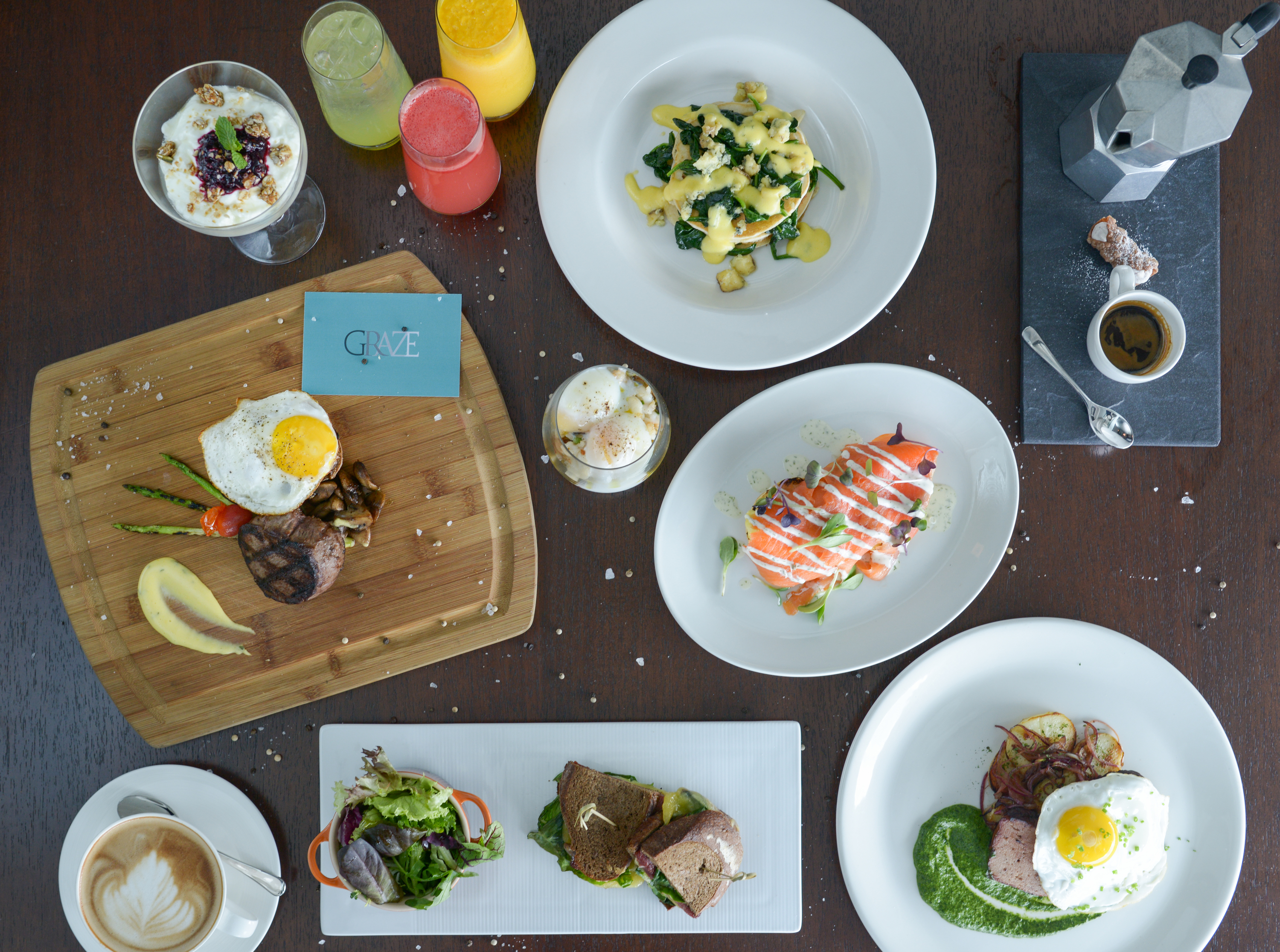 The Lazy Weekend Brunch at Graze
