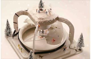 田中達也『ファンの雪山』